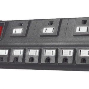 Barra 9 Multicontactos Supresor De Picos Mitzu 2990_0