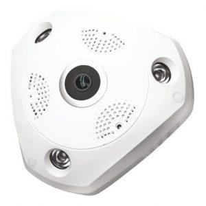 Cámara Ip 360º Con 7 Modos De Visualización Microfono 2010_0