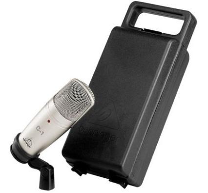 Microfono De Condensador Profesional C-1 Behringer_2