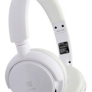 Audífonos Bluetooth Manos Libres Recargables Blanco Ksr 9086_0