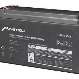Batería Sellada Recargable De Ácido 12v 7a Mitzu 1005_0