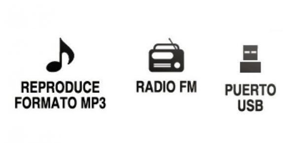 Amplificador Bluetooth Usb Fm Control Auto Moto Mitzu 78bt_1