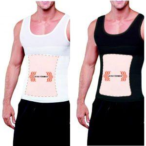 Camiseta Faja Modeladora Magnetica Corrige Postura Al 2x1_0