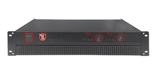 Amplificador De Poder 2 Canales De 1200w Rms Kaiser 51200_0