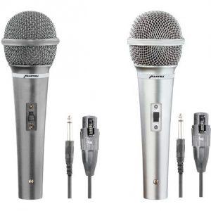 Par De Microfonos Alámbricos Karaoke Hifi Mitzu 1927_0