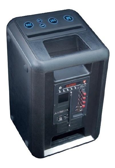 Bocina 8 Recargable Bluetooth Usb Fm Luz Microfono Eco 4008_1