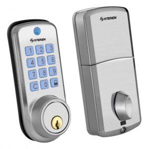 Cerradura De Seguridad Electrinica Teclado-llave 100 Steren_0