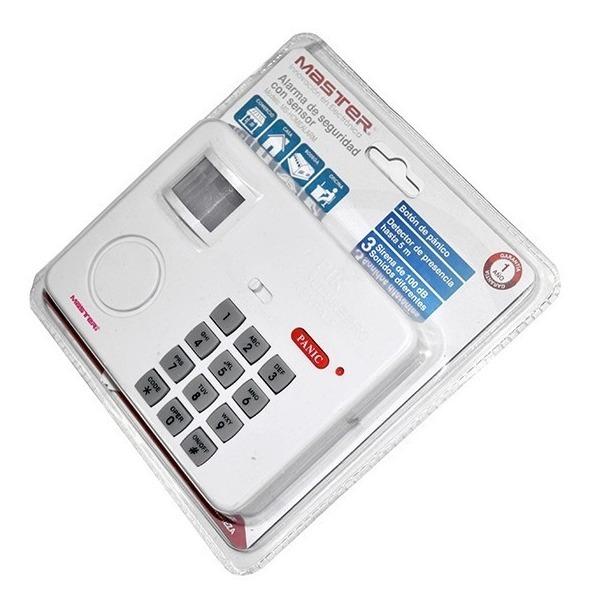 Alarma De Seguridad Con Sensor Para Casa Comercio Oficina_1