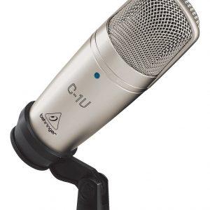 Microfono De Condensador Usb Estudio Behringer C-1u_0