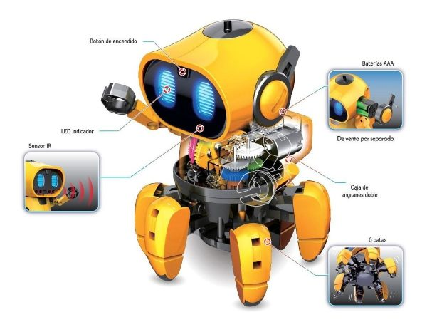 Robot Articulado Para Armar Smartbot Sensores K720 Steren_1