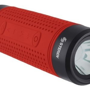 Lampara 4 En 1 Bocina Bluetooth Power Bank Bike300 Steren_0