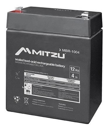 Batería Sellada Recargable De Ácido 12v 4a Mitzu 1004_0