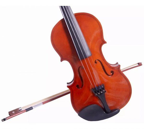 Violin Maple 4/4 Con Estuche Arco Brea Puente Vitale_2