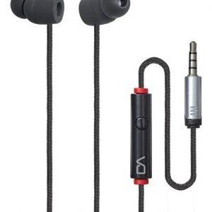 Audifonos Estereo 3.5 Manos Libres Cable Tela Negro 0070_0