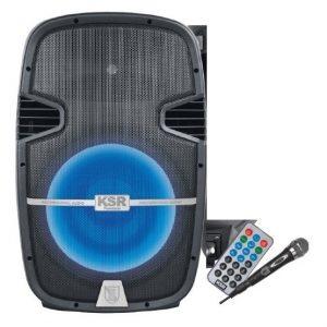 Bafle Amplificado Bocina De 15 Bluetooth Fm Y Micrófono 6915_0